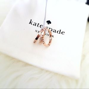 ♠️ Kate Spade Full Circle Rose Gold Midi 3 Rings